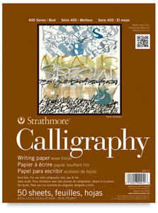 Calligraphy Pad, 50 Sheets