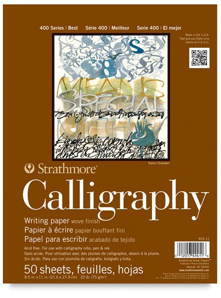 Calligraphy Pad, 50 Sheets