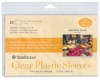 Clear Plastic Sleeves, Pkg of 25