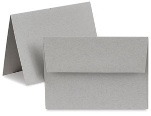 Toned Gray Cards, Box of 10