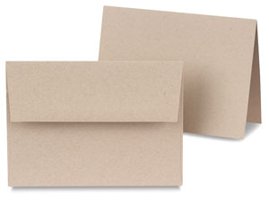 Toned Tan Cards, Box of 10