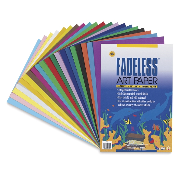 Fadeless Art Paper