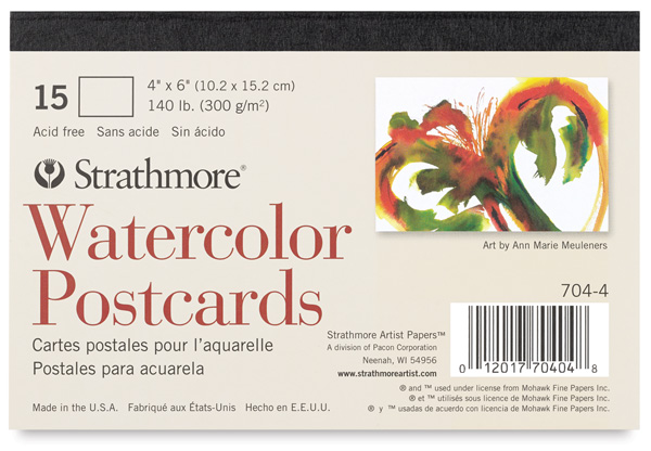 Strathmore watercolor cards blick art materials m4hsunfo
