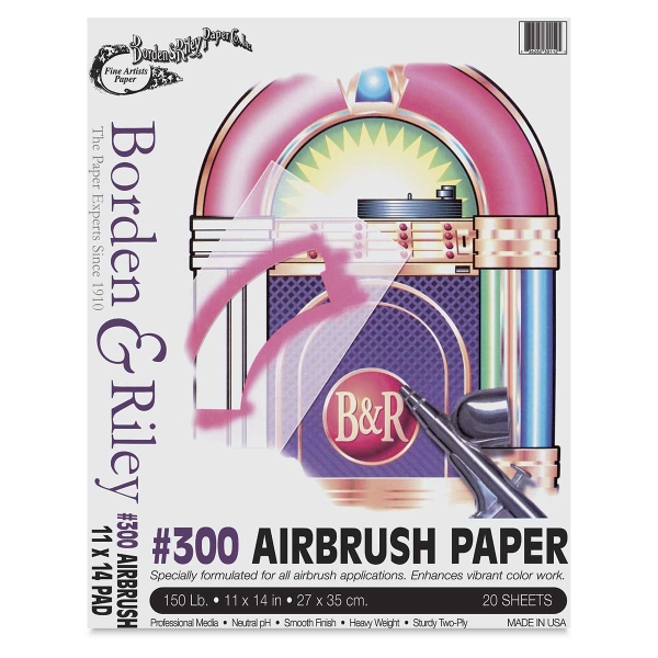 Airbrush Pad, 20 Sheets