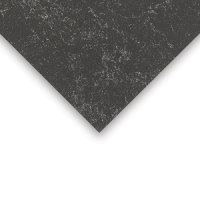 Crescent Decorative Faux Marble Matboard, Black