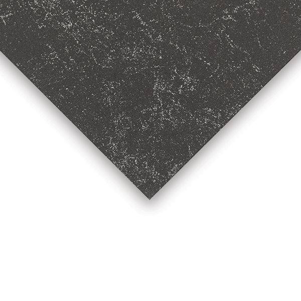 Crescent Decorative Faux Marble Matboard, Black