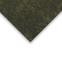 Crescent Decorative Faux Marble Matboard, Black Gold