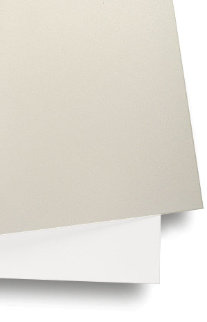 Crescent Decorative Matboard, White and Off-White