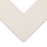 Alphamat Artcare Matboards, Photo White