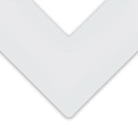 Alphamat Artcare Matboards, Ice White