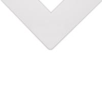 Alphamat Artcare Matboards, Spanish White
