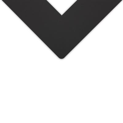 Alphamat Essentials Premium Matboard, Ivory Black