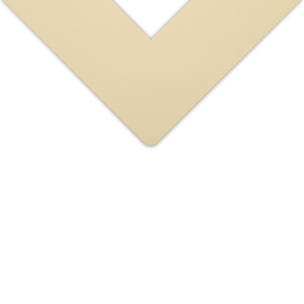 Alphamat Artcare Matboards, Almond