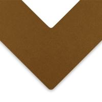 Alphamat Artcare Matboards, Brushed Gold