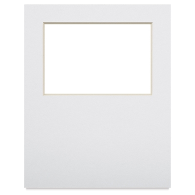 "Photo Mat Art Board w/4"" × 6"" Opening, 8"" × 10"""
