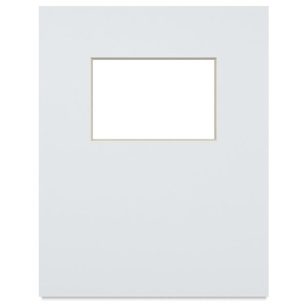 "Photo Mat Art Board w/4"" × 6"" Opening, 11"" × 14"""