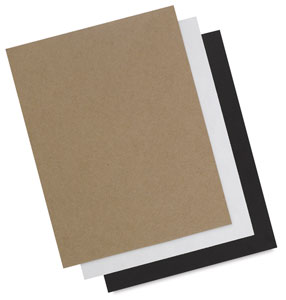 Chipboard (Natural, White, and Black)