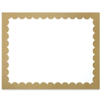 Ucreate Poster Board, Gold Glitter