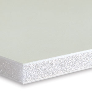 Foam Board, White with White Core
