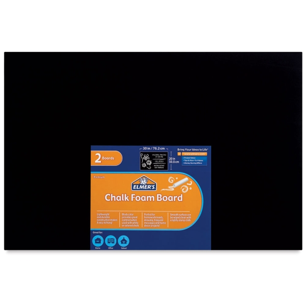 Chalk Foam Board, Pkg of 2