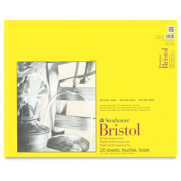 "Bristol Pad, Smooth<br>19"" × 24"""