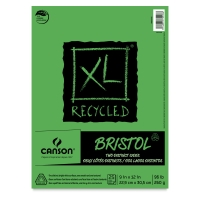 Canson XL Recycled Bristol Pads