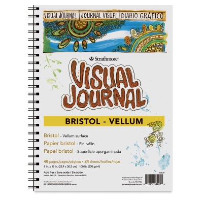Strathmore Visual Journal, Bristol (Vellum)
