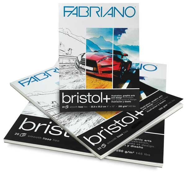 Bristol+ Pads, 20 Sheets