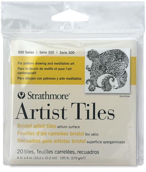 "Bristol Artist Tiles, 4"" x 4"""