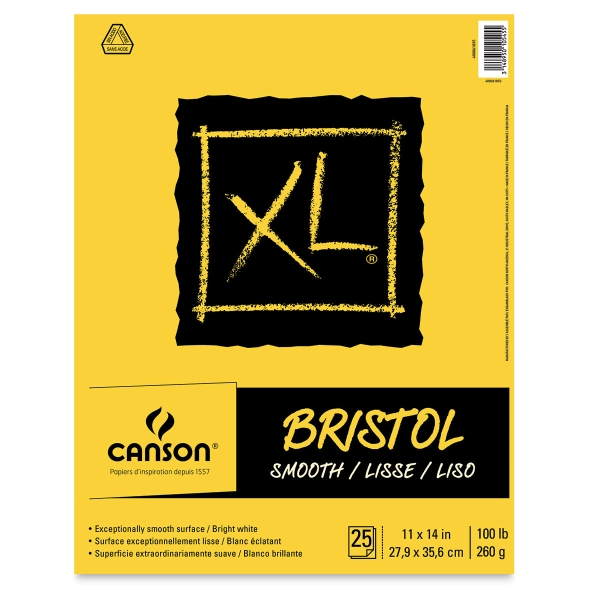 Bristol Pad, Smooth, 25 Sheets