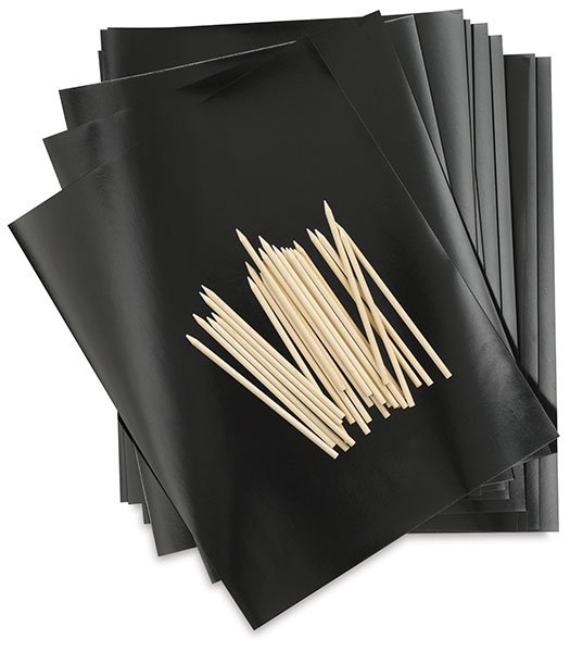 Scratch Art Paper Kit