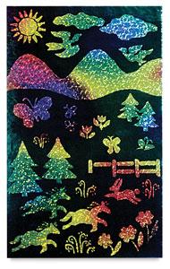 Multicolor Glitter Board