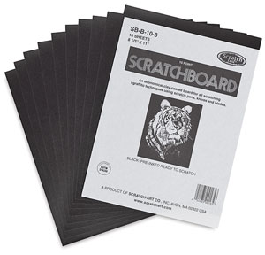 Scratchboard, Pkg of 10