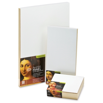 Canvas Texture Artist Panels