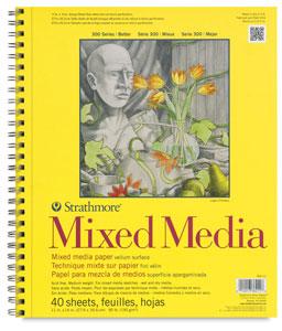 """Mixed Media Pad, 11"""" × 14"""""""