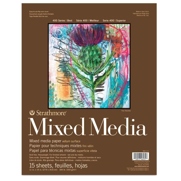 Mixed Media Pad, 15 Sheets