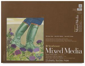 """Mixed Media Pad, 18"""" × 24"""""""