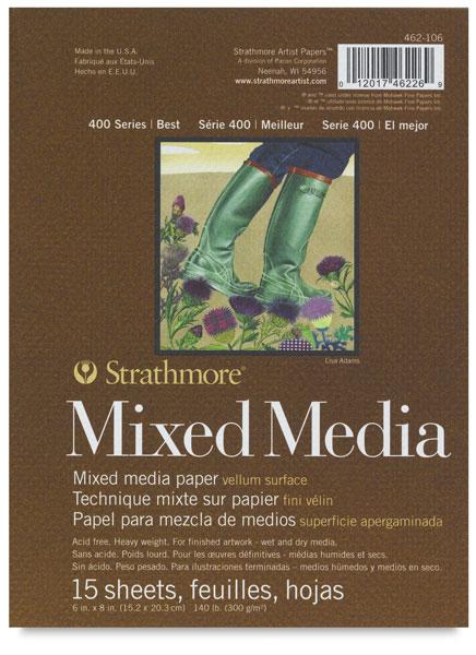 """Mixed Media Pad, 6"""" × 8"""""""