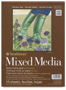 """Mixed Media Pad, 9"""" × 12"""""""