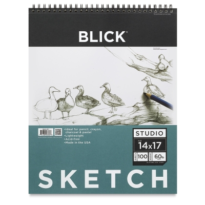 "14"" x 17"" Sketch Pad, 100 Sheets"