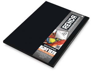 "RendR Drawing Pad, 9"" x 12"", Tapebound"