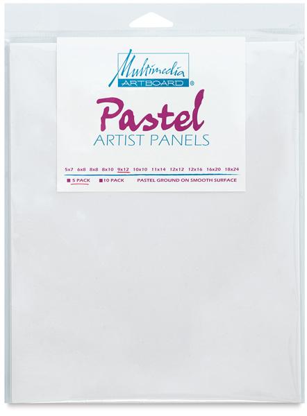 Pastel Artist Panel, Pkg of 5