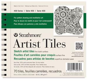 """Artist Tile, Pad, 6"""" x 6"""""""