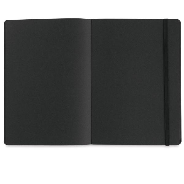 Traveler Draw Pocket Journal, Black Paper