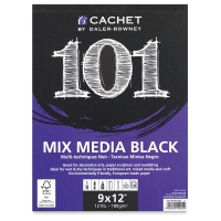 101 Mix Media, Black Pad