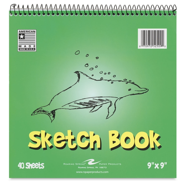 Kid's Sketch Book, 40 Sheets