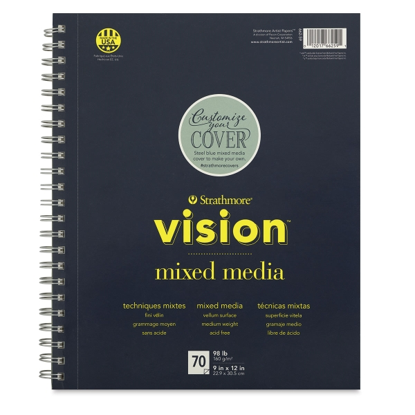 Vision Mixed Media Pad, 70 Sheets