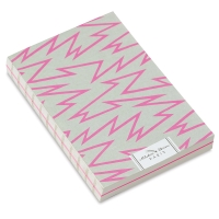 Zig Zag, 128 Sheets of Pink and White Paper