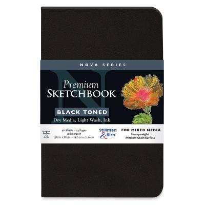 Nova Mixed Media Sketchbook, Black