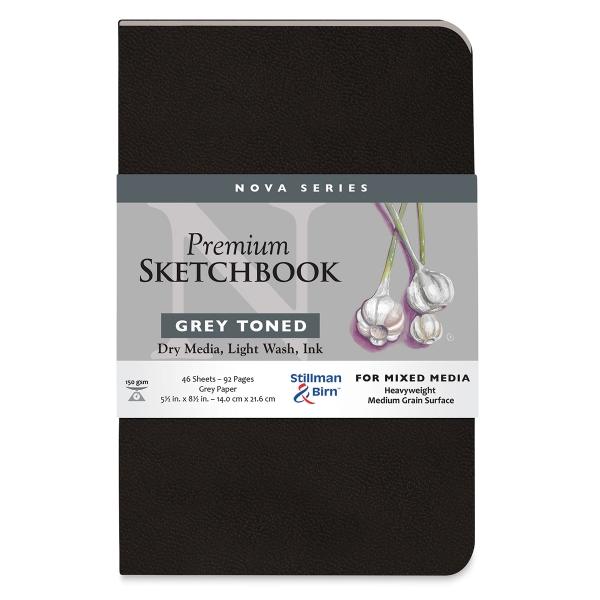 Nova Mixed Media Sketchbook, 46 sheets
